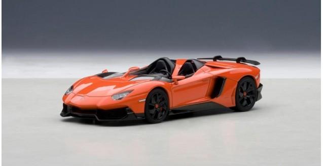 Autoart 54652 Lamborghini Aventador J Orange 1 43