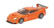 Diecast Cars Jaguar XKR GT3 Orange 1:43 Minichamps 400081394