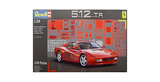 Ferrari 512 TR Kit Revell 07084