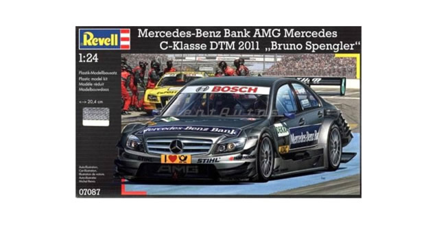 Mercedes-Benz Bank AMG C-Klasse DTM Kit Revell 07087