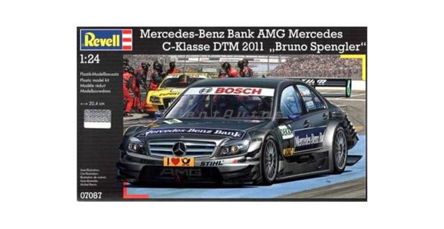 Mercedes-Benz Bank AMG C-Klasse DTM Kit Revell 07087