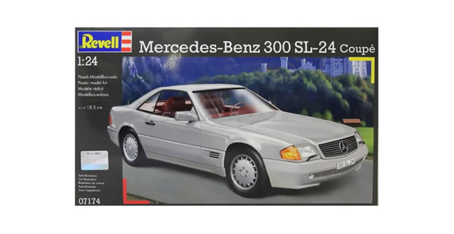 Mercedes-Benz 300 SL-24 Coupe Kit Revell 07174