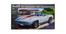'67 Corvette 427 Convertible Kit 1:25 Revell 07197
