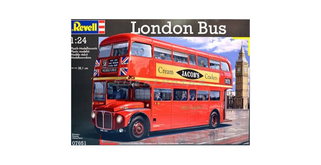 London Bus Kit Revell 07651