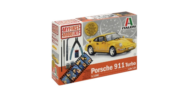 Porsche 911 Turbo / My First Model Kit Italeri 12006