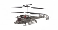 Gunship Helicopter with Gyro RTF 4-Channel Infrared Grey JunHeng J6683