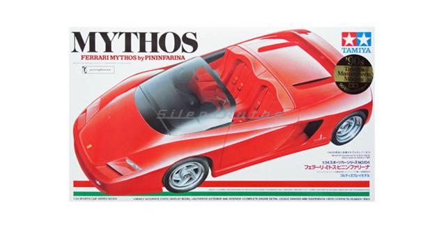 Ferrari Mythos by Pininfarina Red Kit Tamiya 24104