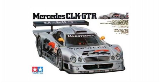 Mercedes-Benz CLK GTR Kit Tamiya 24195