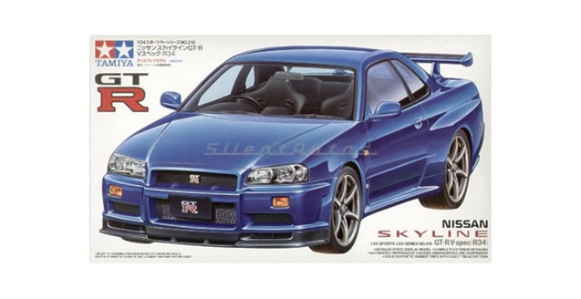 Nissan Skyline GT-R V.spec R34 Kit Tamiya 24210