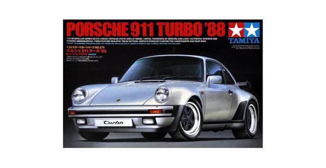 Porsche 911 Turbo 88 Kit Tamiya 24279