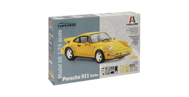 Porsche 911 Turbo Kit Italeri 3675