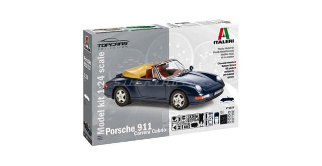 Porsche 911 Carrera Cabrio Kit Italeri 3679