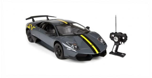 8d49d15fb803 Rastar 38901 Lamborghini Murcielago LP 670-4 Grey 1 14 Remote Control