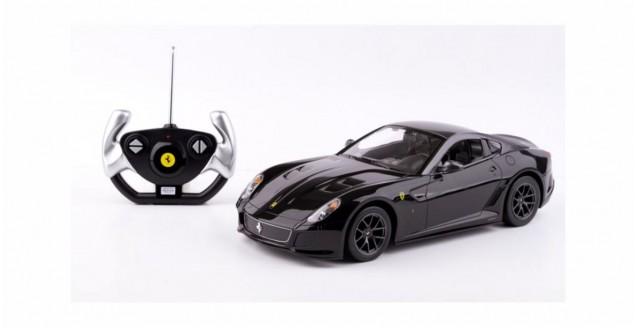 Ferrari 599 GTO Black RC Rastar 47100