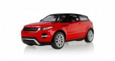 Land Rover Range Rover Evoque Red & Black RC Rastar 47900