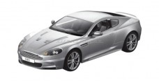 Aston Martin DBS Coupe (Open Door) Silver 1:10 RC Rastar 52200