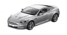 Aston Martin DBS Coupe (Open Door) Silver 1:10 RC Rastar 52200
