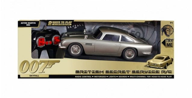 James Bond 50th Anniversary Aston Martin DB5 RC Toy State TS62053 ...