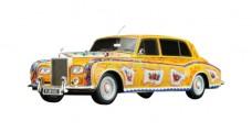 John Lennon Rolls Royce Phantom V Yellow 1:43 TrueScale TSM104312