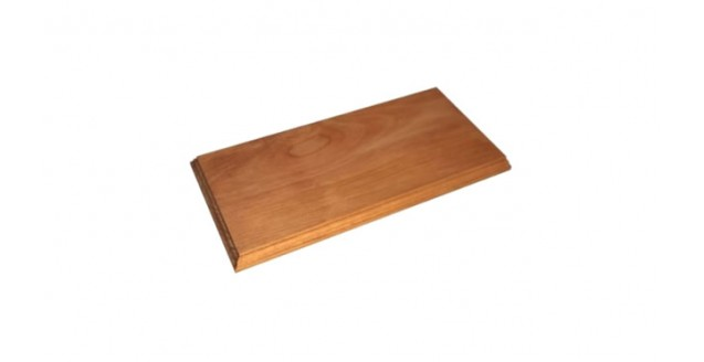 Beech Wood Display Base for 1:43 Scale Model Cars