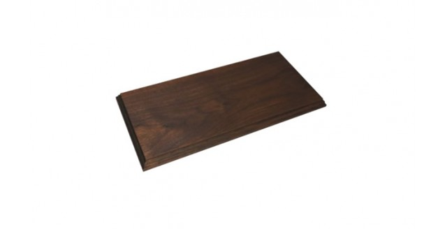 Walnut Wood Display Base for 1:43 Scale Model Cars