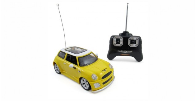 BMW Mini Cooper Yellow RC