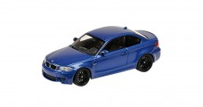 BMW M1 Coupe 2011 Blue 1:43 Minichamps 410020026